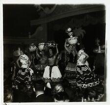 PARIS La Nouvelle Ève Danse Erotique ca 1950, Photo Stereo Cellulose L15n12