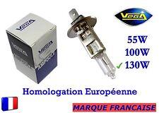 """► Ampoule Halogène VEGA® """"MAXI"""" Marque Française H1 130W Auto Moto Phare Avant ◄"""