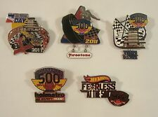 2011 Indianapolis 500 5 Collector Sponsors Pin Firestone Holmatro WIBC Hot Wheel