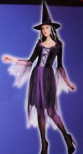 Totally Ghoul Purple Spider Witch Women's Halloween Costume One Size Fits Most