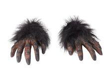 Fancy Dress Hairy Werewolf Hand Gloves Halloween Costume