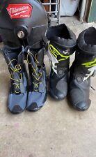 Alpinestars Supertech R Road Racing Motorcycle Boots Sixe 46 EU- 11.5 US