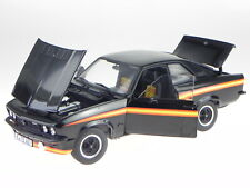 Opel Manta GT/E Black Magic 1975 black diecast model car 183636 Norev 1:18