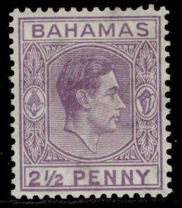 BAHAMAS GVI SG153a, 2½d violet, M MINT.