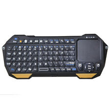 Mini Wireless Bluetooth Backlit Keyboard with Touchpad for Windows Android iOS