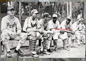 1946 AAA Montreal Royals Jackie Robinson Spring Training 8 X 12 Photo Picture