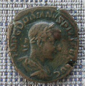 GORDIAN III Roman brass sestertius