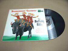 VINYL ALBUM RECORD,BARBERSHOP CHAMPS THE BUFFALO BILLS,DL-8340, DECCA