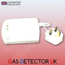 RIVELATORE GAS SIRENA WIRELESS GAZ combustibile PER ALLARME RFID GSM WIFI 433 MHZ