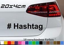 # termes suivants Autocollant 20x4cm Fun sort VW Golf GTI JDM autokleber Sticker TWITTER