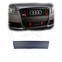 Audi A4 B7 8E US Kennzeichen Blende Frontblende Schwarz Matt für S-Line Grill