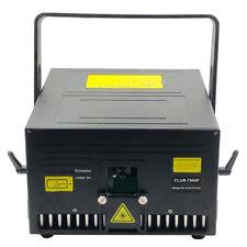 7W RGB Showlaser Club 7000F 40kpps bei ILDA 8 Grad, DMX, AUTO, Sound, SD-Card