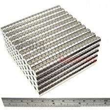 1000 Magnets 8x4 mm Neodymium Disc strong round craft magnet 8mm dia x 4mm