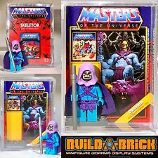 MOTU Skeletor MINIFIGURE + Display Case Lego He-man Type Custom 312h