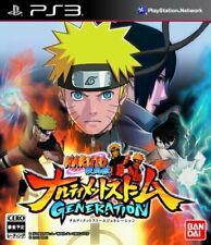 USED PS3 Naruto Shippuden Ultimate Ninja Storm Generations 94576 JAPAN IMPORT