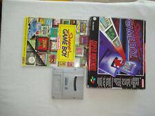 Super Game Boy adaptador snes super nintendo juego Big Box completamente