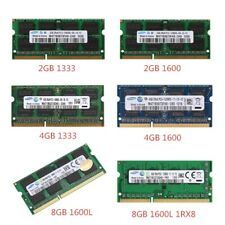 2GB/4GB/8GB PC3-10600/12800 DDR3-1333MHz/1600MHz 204pin  SO-DIMM Laptop Memory D