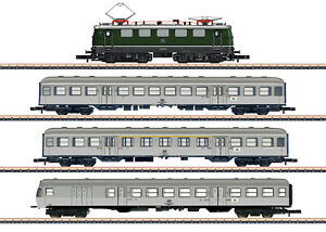 Märklin 81356 Z Gauge Train Pack Transport DB 4-teilig # New Original Packaging