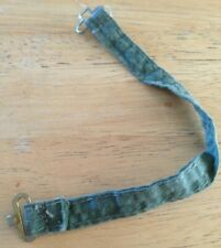 "VINTAGE NO.1 ""ACTION MAN"" GREEN BELT WITH BOTH CLASPS"