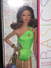 2012 Basics #2 Collection 003 Barbie Doll Auburn Hair green swimsuit #W3331 NRFB