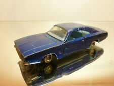 MATCHBOX K-22 DODGE CHARGER - BLUE METALLIC 1:43? - FAIR/GOOD CONDITION