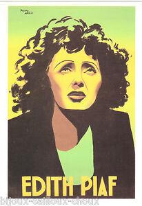 Collection Carte postale EDITH PIAF par Pierre Levé