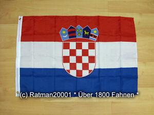 Fahne Flagge Kroatien - 60 x 90 cm