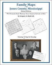 Family Maps Jones County Mississippi Genealogy MS Plat