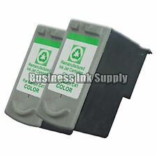 2 COLOR Canon CL-41 Ink Cartridge HIGH YIELD Reman PG-40 for Canon Printer CL41
