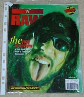 WWF MAGAZINE RAW JANUARY 1999 WRESTLING X-PAC COVER KEN SHAMROCK POSTER WWE