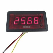 4 Digits Red LED Counter  Meter Totalizer with Relay output 12V DC Up Down