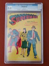SUPERMAN #30 CGC 8.0 1944 ORIGIN & 1ST APPEARANCE OF MR. MXYZTPLK KEY