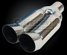 Anschweißendrohr 2x90mm DTM Absorber, 33cm, TÜV-Libero
