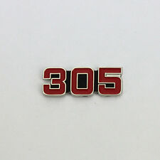 Chevy Chevrolet v8 305 logotipo us Car Button tiene pin ele prendedor Badge