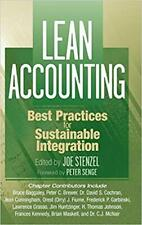 Lean Accounting Best Practices for Sustainable Integration 1st Edition by Joe St