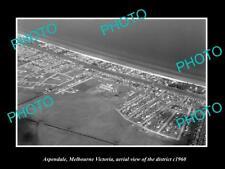 OLD LARGE HISTORIC PHOTO ASPENDALE MELBOURNE AUSTRALIA, DISTRICT VIEW c1960 1