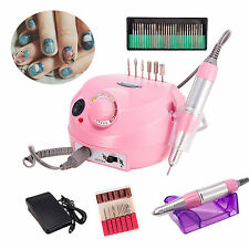 Professional Electric Nail File Drill Machine Set for Manicure and Pedicure