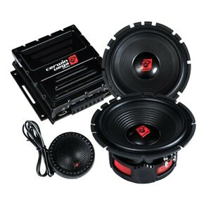 "CERWIN VEGA ST65C 6.5"" STROKER PRO COMPONENT TWEETERS CROSSOVERS SPEAKERS*NEW"