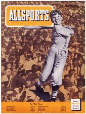 Vintage ALLSPORTS MAGAZINE (May-June 1945) BABE RUTH 1927 Yankees