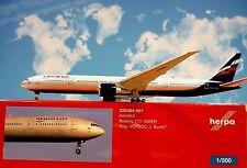 Herpa Wings 1:500  Boeing 777-300ER  Aeroflot VQ-BQC 526364-001 Modellairport500