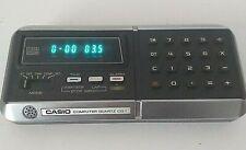 New listing Vintage 1970's Casio Cq-1 Computer Quartz Calculator & Clock Tested & Working