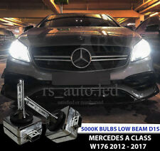 2x D1S Xenon Blanco 5000K Bombillas Reemplazo Bajo Haz Mercedes Clase a W176 12-17