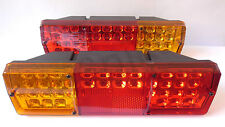 2x 12V/24V LED Rear Tail Lights Lamps Truck DAF MAN IVECO SCANIA VOLVO MERCEDES