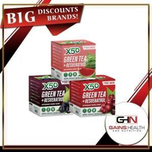 X50 GREEN TEA DETOX TEATOX SKINNY TEA ME WEIGHT LOSS FAT BURNER
