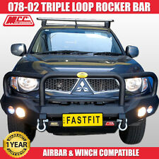 MCC4x4 078-02 Rocker Bull Bar - Mitsubishi Triton ML-MN 2006 ON WINCH COMP
