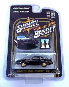 Greenlight 1/64 3 Smokey & The Bandit 2 Pontiac Firebird