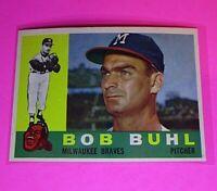 1960 Topps #374 Bob Buhl Braves NmMt High Grade Sharp!