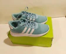 Kids Adidas Lite Racer Running Mesh BC0074 Blue White Sneaker Shoes Size 3.5 NIB
