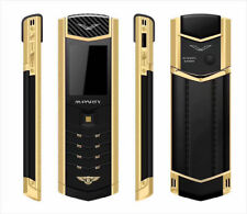 2018 Unlocked Luxury MPARTY LT2 Bluetooth Dual Sim Cell Phone Stainless Metal