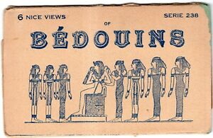 EGYPT BOOKLET 6 P.C - NICE VIES OF BEDOUUNS
